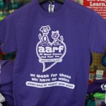 AARF Logo T-shirt in Lilac - $15: Gildan Heavy Cotton Classic Fit Adult T-Shirt (50% Cotton / 50% Polyester Jersey available in S, M, L, XL, 2XL, 3XL)
